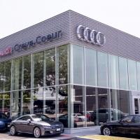Plaza Audi St Charles Glass Glazing - Plaza audi